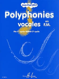 Jean-Paul Joly - Vocal Polyphony in FM - Sheet Music - di-arezzo.co.uk