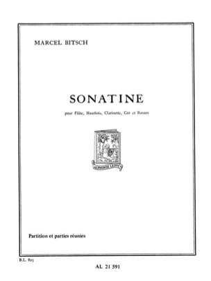 Marcel Bitsch - Sonatine - Sheet Music - di-arezzo.com