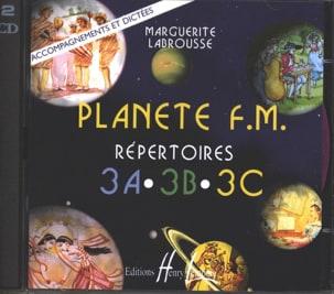 Marguerite Labrousse - CD - Planète FM Volume 3 - Accompagnements/Dictées - Partition - di-arezzo.fr