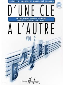 Elisabeth LAMARQUE et Marie-José GOUDARD - From One Key to Another - Volume 2 - Sheet Music - di-arezzo.co.uk