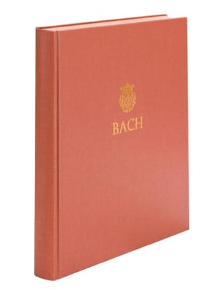 BACH - Drei Sonaten for Viola da gamba and Cembalo BWV 1027-1029 - Sheet Music - di-arezzo.com