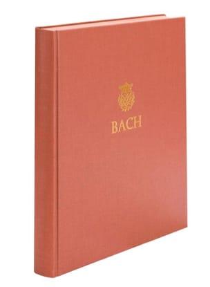 Johann Sebastian Bach - Drei Sonaten für Viola da gamba und Cembalo BWV 1027-1029 - Partition - di-arezzo.fr