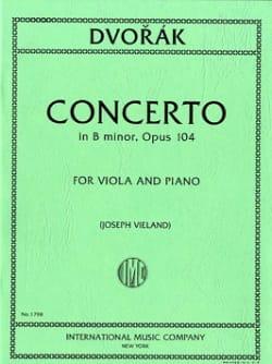 Concerto in B minor, op. 104 - Antonin Dvorak - laflutedepan.com