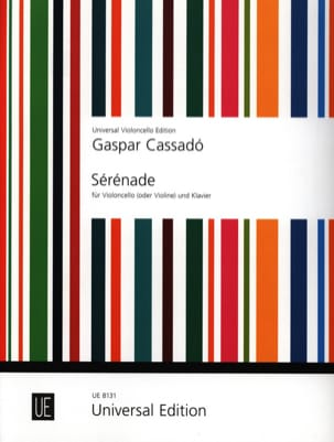 Gaspar Cassado - Serenade - Sheet Music - di-arezzo.co.uk