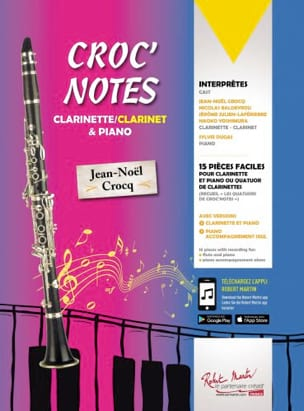 Jean-Noël Crocq - Croc 'note - Partitura - di-arezzo.it