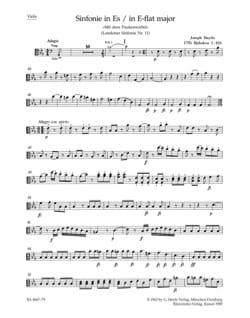 Symphonie Nr. 103 Es-Dur – Matériel Complet - laflutedepan.com