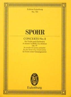 Violin-Konzert Nr. 8 a-Moll - Louis Spohr - laflutedepan.com