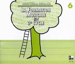 SICILIANO - CD / la Formation Musicale En 2ème Cycle Vol.6 - Partition - di-arezzo.fr