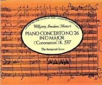 MOZART - Concierto Piano n.º 26 en re mayor KV 537 - Partitura - di-arezzo.es