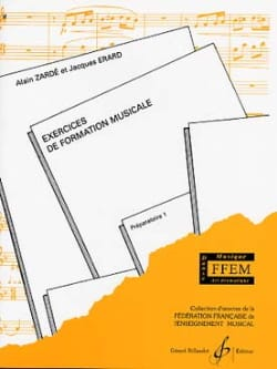 Zardé Alain / Grabos Catherine - FM Exercises - Preparatory 1 - Sheet Music - di-arezzo.co.uk