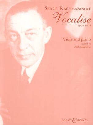 RACHMANINOV - Vocalise op. 34 n ° 14 - Alto - Sheet Music - di-arezzo.com