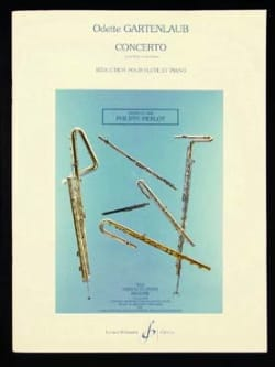 Concerto – Flûte et piano - Odette Gartenlaub - laflutedepan.com