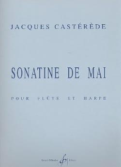 Sonatine de mai - Jacques Castérède - Partition - laflutedepan.com