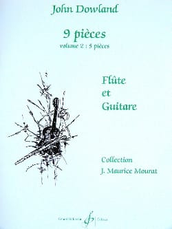 John Dowland - 9 Pieces - Volume 2 - Flute and Guitar - Sheet Music - di-arezzo.com
