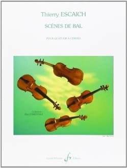 Scènes de Bal - Thierry Escaich - Partition - laflutedepan.com