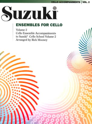 Suzuki - Ensembles for Cello – Volume 2 - Partition - di-arezzo.fr