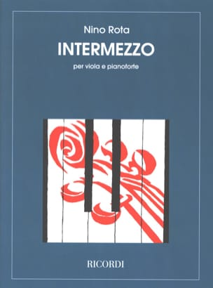 Nino Rota - Intermezzo - Sheet Music - di-arezzo.co.uk