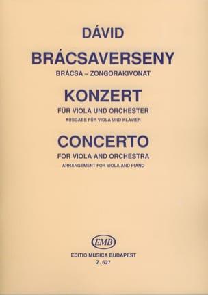 Gyula David - Alto Concerto - Partitura - di-arezzo.es