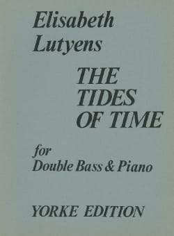 Elisabeth Lutyens - The tides of times op. 75 - Partition - di-arezzo.fr
