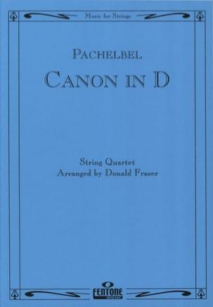 Canon in D - String Quartet PACHELBEL Partition laflutedepan