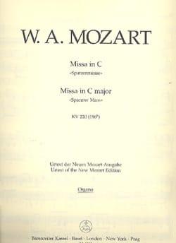 MOZART - Missa C-Dur Spatzenmesse KV 220 - Complete Material - Sheet Music - di-arezzo.com