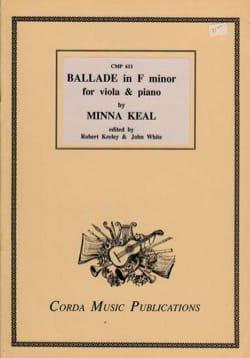 Ballade en fa mineur - Minna Keal - Partition - laflutedepan.com