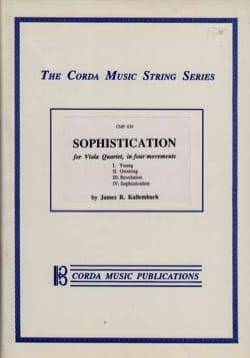 Sophistication - James R. Kallembach - Partition - laflutedepan.com