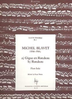 Michel Blavet - Gigue en Rondeau - Rondeau - Partition - di-arezzo.fr