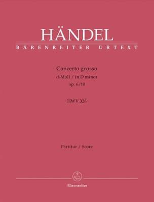 Georg Friedrich Haendel - Concerto Grosso d-Moll op. 6/10 – Partitur - Partition - di-arezzo.fr