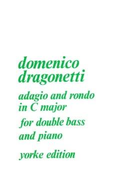 Domenico Dragonetti - Adagio and Rondo in C Major - Partition - di-arezzo.fr