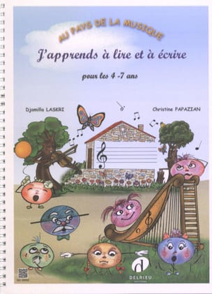 Laskri Djamilla / Papazian Christine - I'm learning to read and write for ages 4-7 - Sheet Music - di-arezzo.co.uk