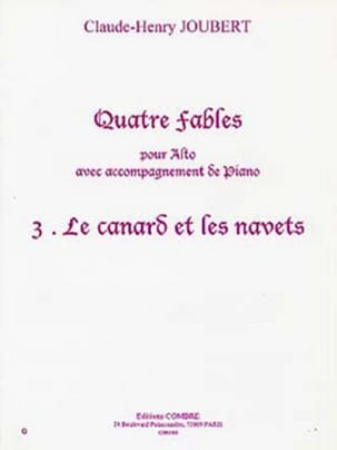 Claude-Henry Joubert - Duck and turnips - Sheet Music - di-arezzo.com