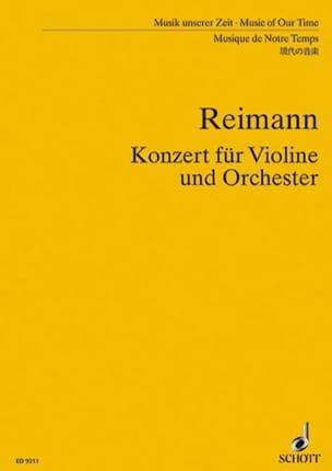 Konzert für Violine und Orch. – Partitur - laflutedepan.com