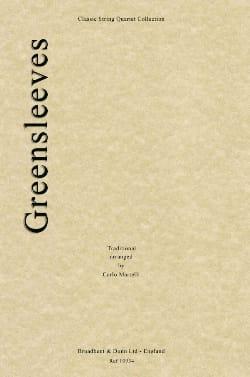 Greensleeves - String quartet Carlo Martelli Partition laflutedepan