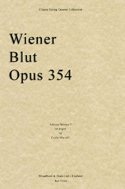 Johann (Fils) Strauss - Wiener Blut Op.354 - String Quartet - Partition - di-arezzo.fr