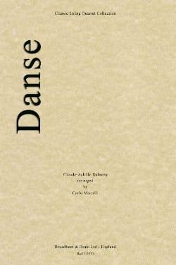 Danse - String quartet - DEBUSSY - Partition - laflutedepan.com