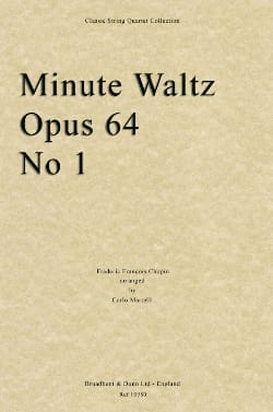 CHOPIN - Minute Waltz op. 64 n° 1 - Partition - di-arezzo.fr