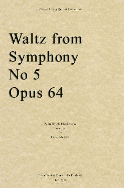 TCHAIKOVSKY - Waltz from Symphony No. 5 - Quartet String - Sheet Music - di-arezzo.co.uk