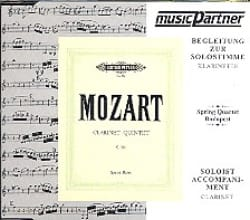 MOZART - CD / Clarinet Quintet - K.581 - Partition - di-arezzo.fr