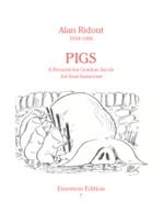 Alan Ridout - Pigs – 4 bassoons - Partition - di-arezzo.fr