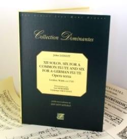 Jean-Baptiste (John) de Londres Loeillet - 12 Solos - 6 for common flute and 6 for german flute - Partition - di-arezzo.fr