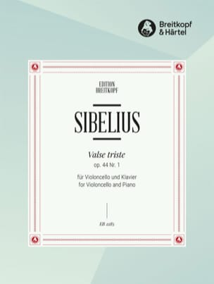 Jean Sibelius - Waltz Triste Opus 44 N ° 1 - Sheet Music - di-arezzo.co.uk