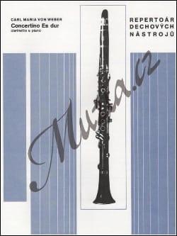 Concertino Es-Dur –Klarinette Klavier - laflutedepan.com