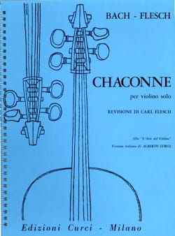 BACH - Chaconne - Sheet Music - di-arezzo.co.uk