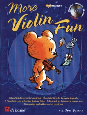 Nico Dezaire - More Fun Violin - Sheet Music - di-arezzo.co.uk