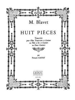 Michel Blavet - 8 Pièces - Partition - di-arezzo.fr