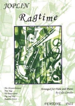 Ragtime - Flûte piano - Scott Joplin - Partition - laflutedepan.com
