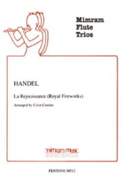 La Réjouissance Royal Fireworks - 3 Flutes HAENDEL laflutedepan