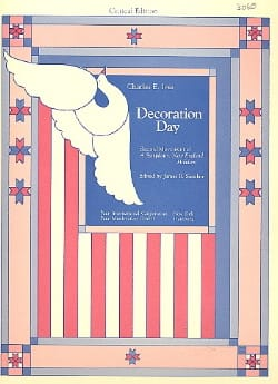 Decoration Day - Score - Charles E. Ives - laflutedepan.com