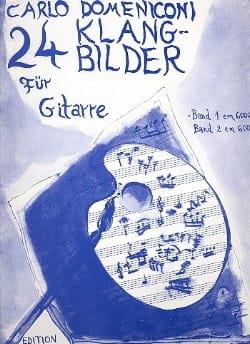 Carlo Domeniconi - 24 Klangbilder Volume 1 - Partition - di-arezzo.fr
